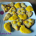 recette Sablés au citron de Pâques