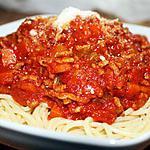 recette Spaghetti bolo express