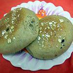 recette English muffins blé complet & graines sans lait ni oeuf