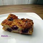recette pudding griottes-noix de coco