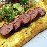 omelette toulousaine (recette express)