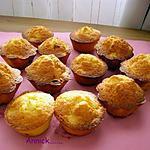 recette mini-cakes aux pommes et raisins secs