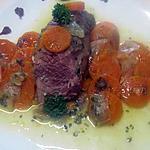 Filet mignon de porc aux carottes à la cocotte minutes.