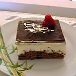 recette GATEAU MASCARPONE PISTACHE CHOCOLAT