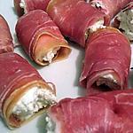 recette Petit jambon cru/boursin vite fait bien fait