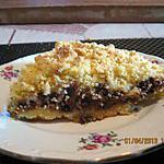 recette Torta sbriciolata ricotta e cioccolato (Gateau  à la ricotta et chocolat façon crumble)