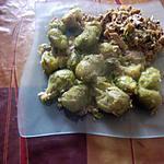 recette roti de porc,choux de bruxelles;;assiette faite avec un reste de roti