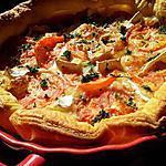 Tarte à la tomates et camembert