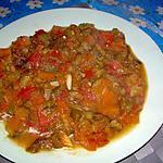 recette poivron avec tomates et citrouille