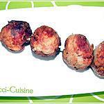 recette Boulettes de viande  ° köttbullar °