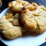Cookies aux noisettes/peanuts {sans oeufs}