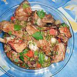 recette Sauté de dinde aux petits pois