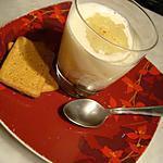 recette * Délicieuse Vérine de poire parfumée à l'orangé avec sa crème fouettée *