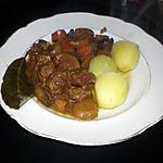 recette Bœuf et petits légumes en ragoût de bière brune