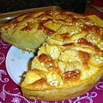 recette * Gateau MOELLEUX Pommes/Amande parfumé au Rhum *