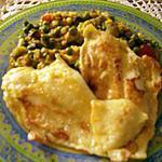 recette filets de limande et légumes à l'indienne