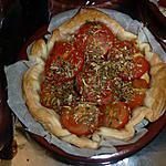 recette Tartelette tomate cerise