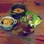 recette canard servi en trois façons