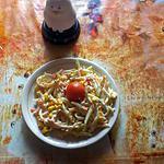 recette salade d'avoines au surimi