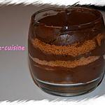 recette Mousse au chocolat et speculoos