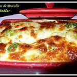 recette flans de brocolis et chéddar