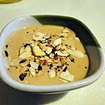 recette Crème prise aux amandes