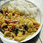 """recette """"Poulet à l'ananas à ma façon"""" de Dhanggit"""