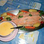 recette Truite de mer sauce hollandaise