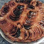 recette Tarte aux pommes creme patissière