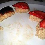 recette Sushis à la fraise et à la prune