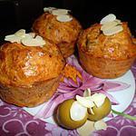 recette Muffins au thon et aux amandes