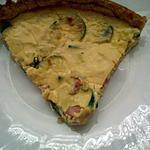 recette Quiche extra jambon/courgette/champignons