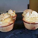 recette Muffins à la creme de citron