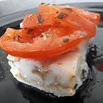 recette cabillaud à la tomate (diététique)