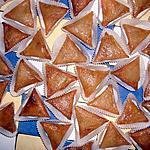 recette Triangles aux amandes