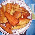 recette Panais laqués