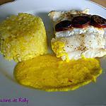 recette Poisson sauce au safran et chorizo