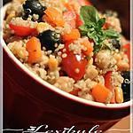 recette ~Salade de quinoa et de légumes (sans gluten)~