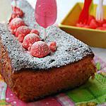 recette Cake à la fraise Tagada ®