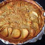 recette Tarte aux pommes et bananes