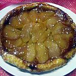 recette Tatin aux pommes et caramélisé.