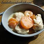 recette blanquette de dinde aux crevettes et gingembre