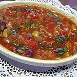 recette Sauce tomates poivrons et basilic.