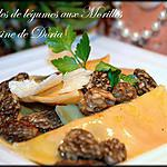 Ravioles de légumes aux Morilles