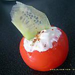 recette tomates farcies aux petits suisses et concombre (diététique)