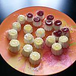 recette Mini panna cota en gélatine