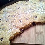 Moelleux au cookies aux pepites nutellaté