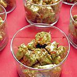 recette Avocats, sauce harissa maison