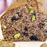 recette Cake léger aux fruits secs, sans gluten
