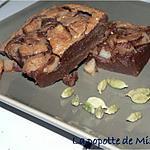 recette Fondant au chocolat, poire et cardamome